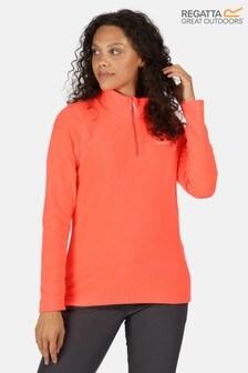 Regatta Orange Sweethart Half Zip Fleece