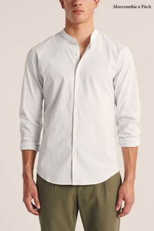 Abercrombie & Fitch White Slim Shirt