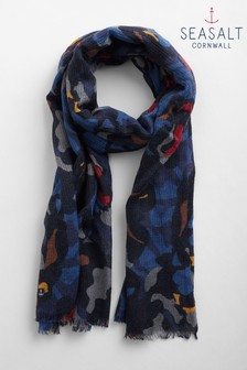 Seasalt Navy Dynamic Scarf