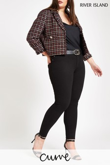 River Island Black Molly Jeans