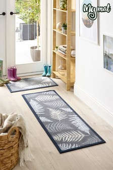My Mat Leaves Washable Runner