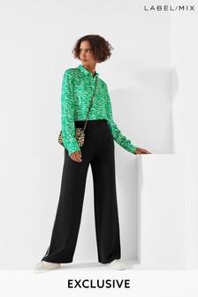 Mix/Cefinn Tailored Wide Leg Trousers