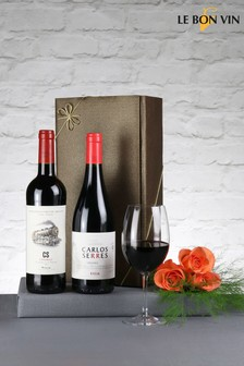 Set of 2 Classic Riojas Red Wine Gift Set by Le Bon Vin