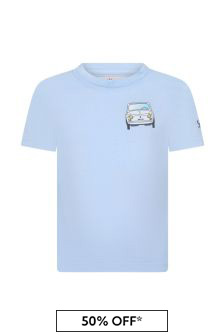 MC2 Saint Barth Boys Blue T-Shirt