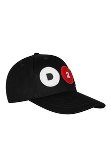 Baby Black Cotton Cap