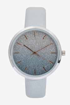 Ombre Shimmer Dial Watch