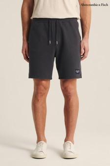 Abercrombie & Fitch Grey Logo Shorts