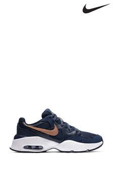 Nike Navy/Gold Fusion Trainers