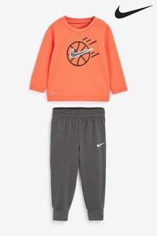 Nike Little Kids Soccer Crew And Jogger Set
