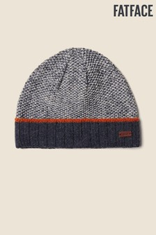 FatFace Blue Turn Up Beanie