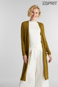 Esprit Green Long Sleeved Cardigan