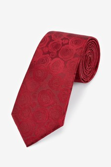 Rose Wide Tie