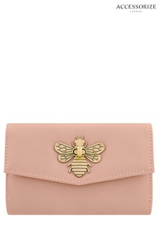 Accessorize Pink Britney Bee Wallet