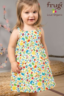 Frugi Organic Floral Party Dress
