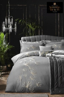 Laurence Llewelyn-Bowen Luxor Luxury Embroidered Duvet Cover and Pillowcase Set