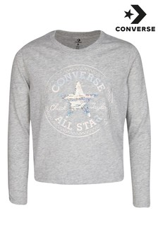Converse Youth Flip Sequin Chuck Patch T-Shirt