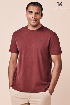 Crew Clothing Red Crew Classic T-Shirt