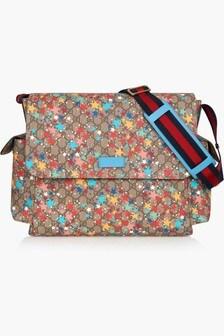 GUCCI Kids Beige Changing Bag