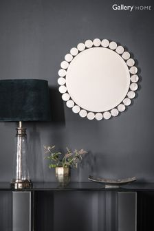Linz Round Circle Mirror by Gallery Direct
