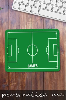 Personalised Football Pitch Design Mouse Mat