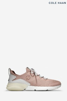 Cole Haan Pink Zerogrand Stitchlite Lace-Up Runner Trainers