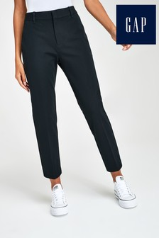 Gap High Rise Slim Cropped Trousers