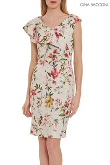 Gina Bacconi Darcella Floral Scuba Dress