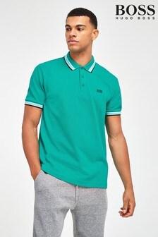 BOSS Green Tipped Paddy Poloshirt