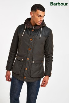 Barbour® Game Slim Fit Wax Parka