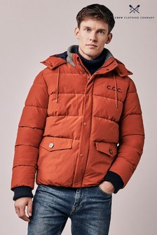 Crew Clothing Orange Ambleworth Jacket