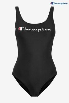 Champion Black Swimming Costume