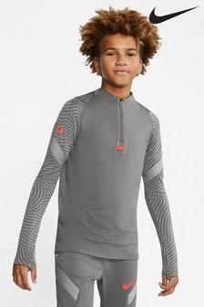 Nike Grey Strike Drill Top