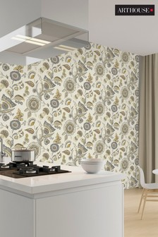Catarina Floral Wallpaper by Arthouse