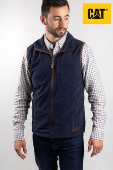 Cat® Blue Concord Fleece Vest