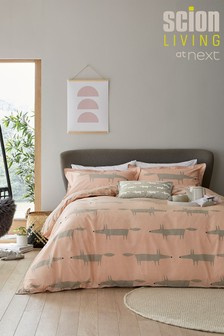 Scion Exclusive To Next Mr Fox Duvet Cover and Pillowcase Set