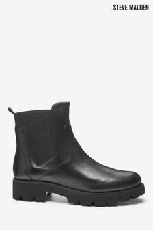 Steve Madden Black Gracey Boots
