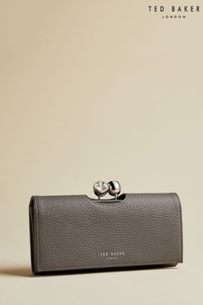 Ted Baker Grey Twisted Crystal Bobble Matinee Purse