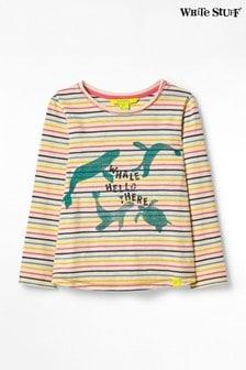 White Stuff Multi Kids Positivity Jersey T-Shirt