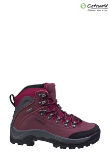 Cotswold Red Westonbirt Waterproof Hiker Boots