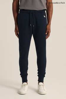 Abercrombie & Fitch Navy Icon Joggers