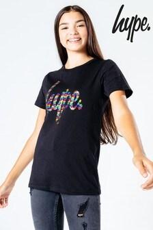 Hype. Rainbow Script T-Shirt