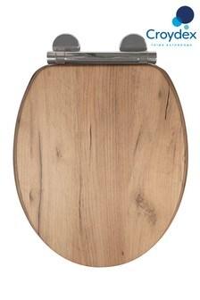 Croydex Corella Oak Toilet Seat