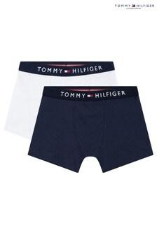 Tommy Hilfiger Blue Original Trunks Two Pack
