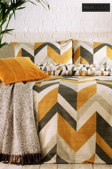 Reno Duvet Cover and Pillowcase Set by Riva Home