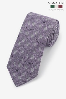 Signature Floral 'Made in Italy' Tie