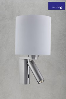 Clem 2 Light Adjustable Wall Light by Searchlight