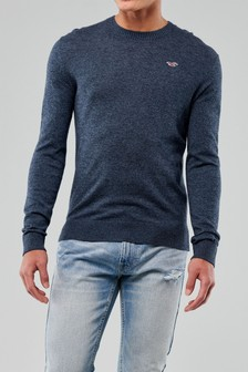 Hollister Navy Core Jumper