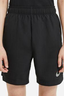 """Nike Performance Black 6"""" Woven Shorts"""