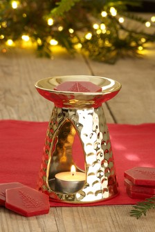 Festive Spice Wax Melt Burner