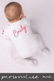 Personalised Name Sleepsuit